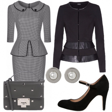 Outfit Tubino a quadretti