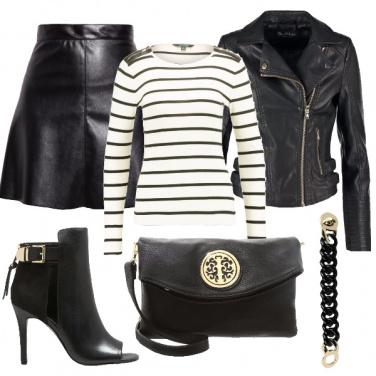 Outfit Aggressiva con stile