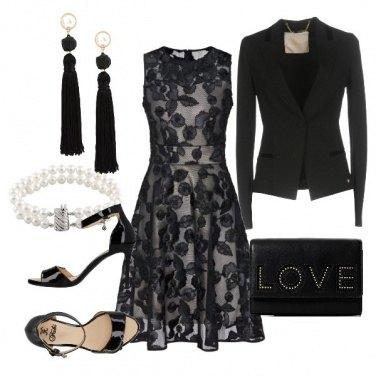 Outfit Cerimonia autunnale