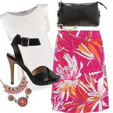 Outfit E\' tempo di fiori...