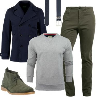 Abbinamento con tre colori outfit uomo casual per tutti i for Abbinamento a tre