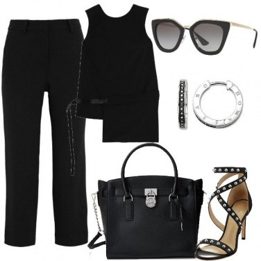 Outfit Summer in black