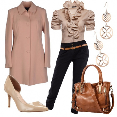 Outfit Arricciature glamour