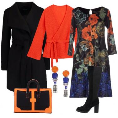 Outfit Il nero ricco di colori