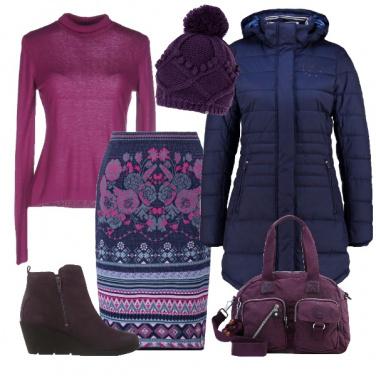 Outfit Affrontiamo il freddo con la gonna
