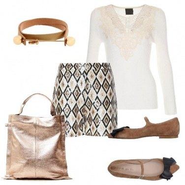 Outfit Rombi e paillettes