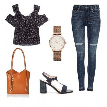 Outfit Denim skinny