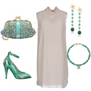 Outfit Chiffon e coriandoli