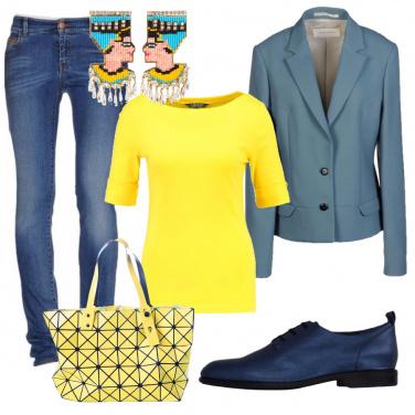 Outfit Giovane e colorata