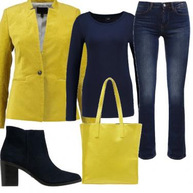 Outfit Giallo energia