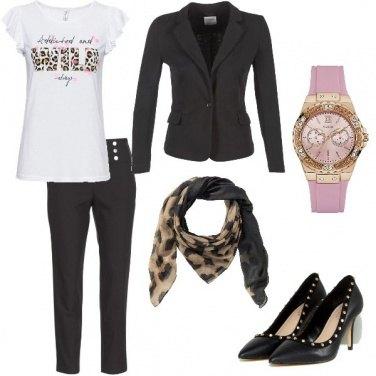 Outfit Stile leopardato