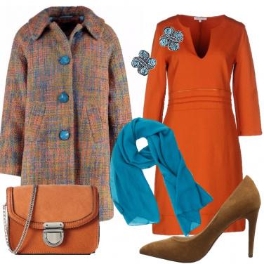 Outfit L\'energia dell\' arancione
