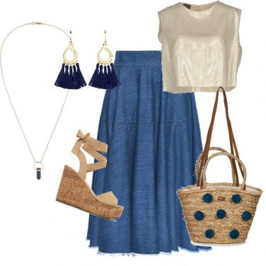 Outfit Summer jeans