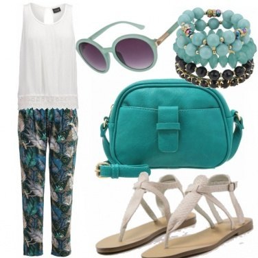 Outfit Chic bohemian summer