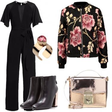 Outfit Elegante con la tuta
