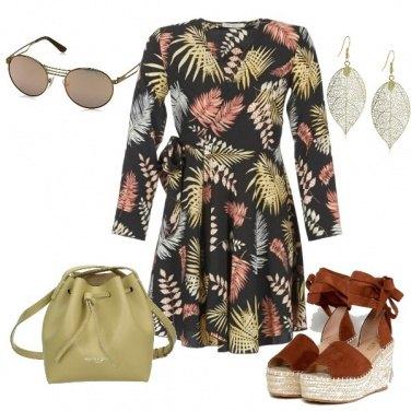 Outfit Zeppe e foglie