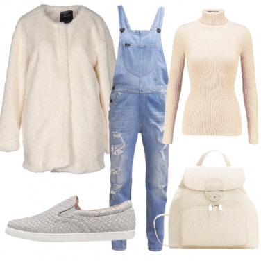 Outfit Salopette d\'inverno