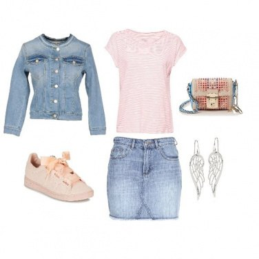 Outfit Angel Pink
