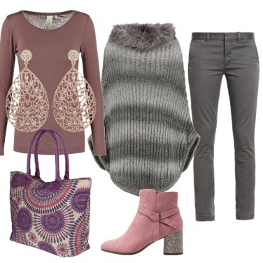 Outfit Calda mantella