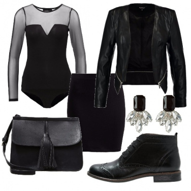 Outfit Body e tulle