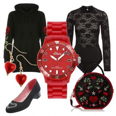 Outfit Fuga d\'amore in montagna