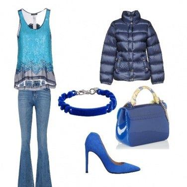 Outfit Blu caldo