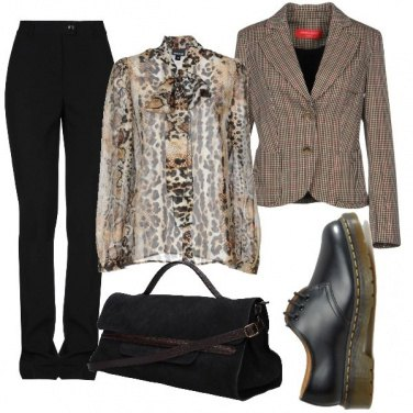 Outfit Mix and mach animalier