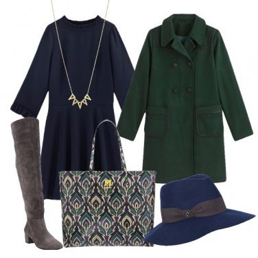 Outfit Coda di pavone