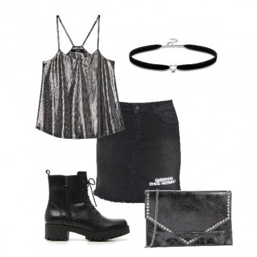 Outfit Rock all Black