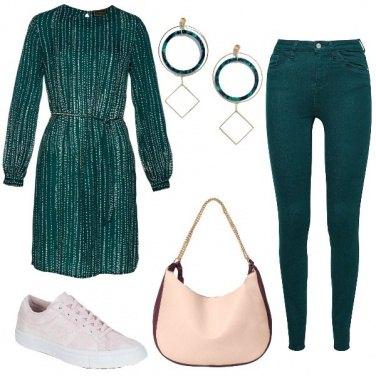 Outfit Verde bottiglia