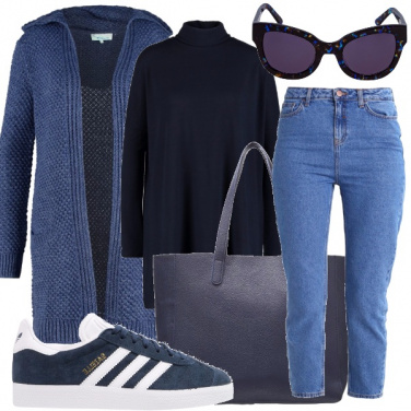 Outfit Cielo blu d\'autunno