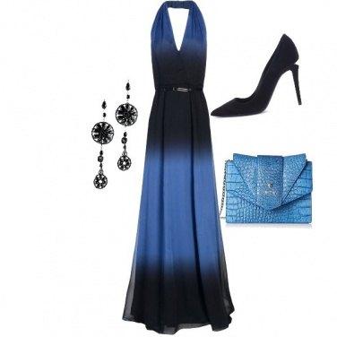d00e592b45ba Un abito da sogno  outfit donna Chic per cerimonia