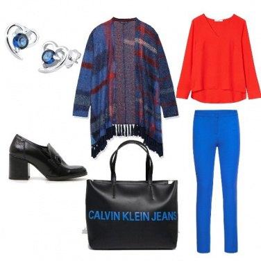 Outfit Colori caldi e freddi per l\'autunno