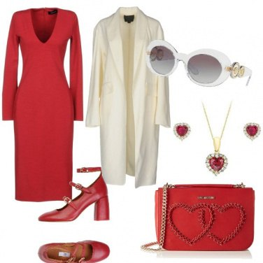 Outfit Arriva l\'autunno in rosso