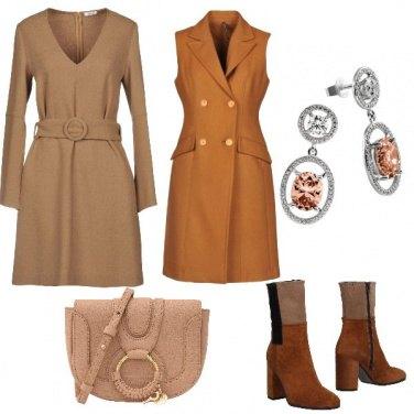 Outfit Arriva l\'autunno beige e marrone