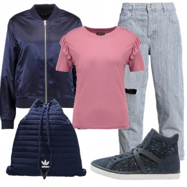 Outfit Urban romantico