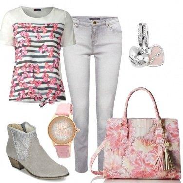 Outfit Basic e romantica