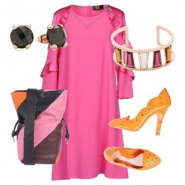 Outfit Bandle Fucsia