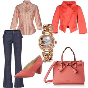 Outfit Gessato e righe