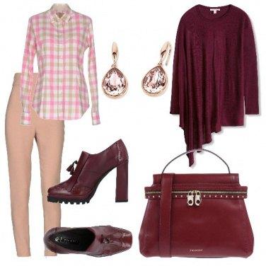 Outfit L\'eleganza della mantella