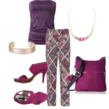 Outfit Purple