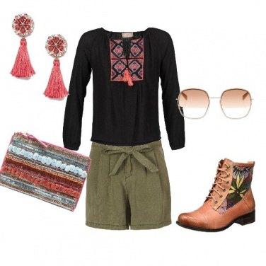 Outfit Serata Folk