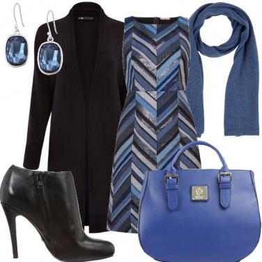 Outfit Fatti notare con il blu riverside