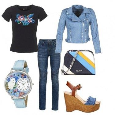 Outfit Jeans ma chic