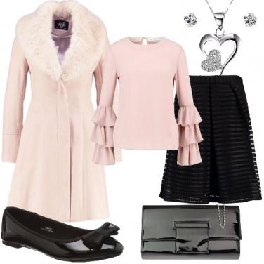 Outfit Una signorina in rosa