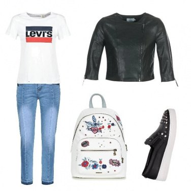Outfit Scuola time