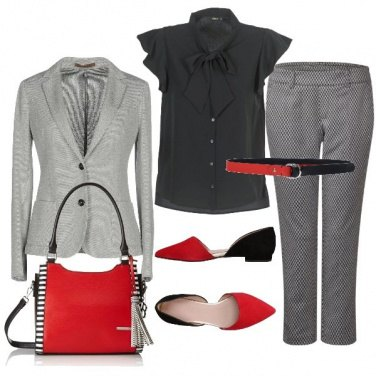 Outfit Rosso&nero