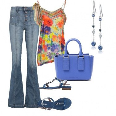 Outfit Jeans passepartout