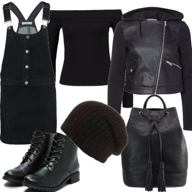 Outfit In nero non sbagli mai