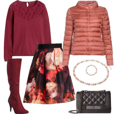 Outfit Sfumature di dusty cedar